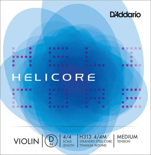D´ADDARIO Helicore Cuerda-Re Violín medio