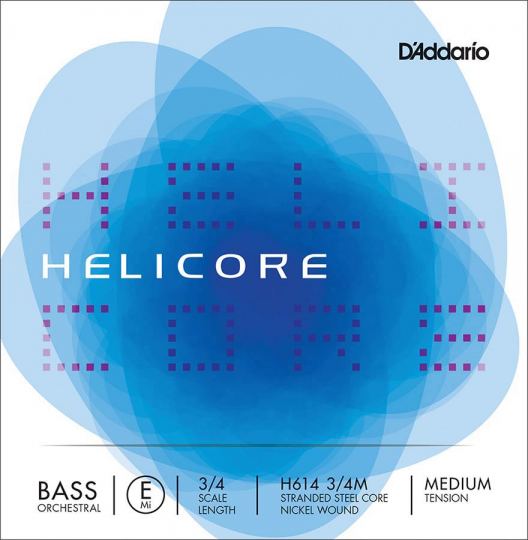 D´ADDARIO Helicore Contrabajo H614 Cuerda-Mi