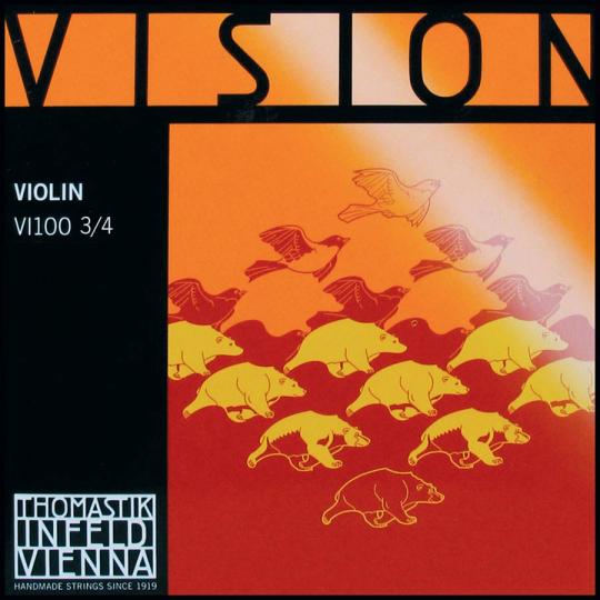 THOMASTIK Vision Juego 3/4 Violín, medio