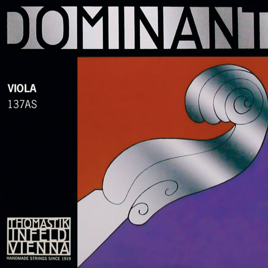 THOMASTIK Dominant Cuerda-Re Viola Plata, suave