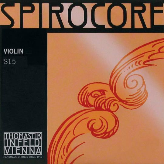 THOMASTIK Spirocore Juego Violín Alu/Cromo, medio