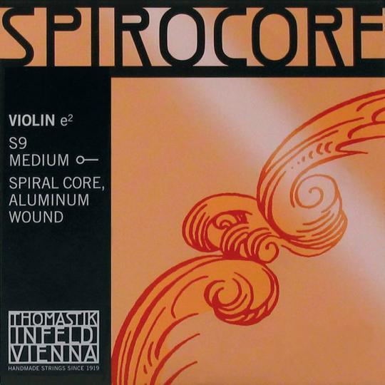 THOMASTIK Spirocore Violín Cuerda-Mi Alu, medio