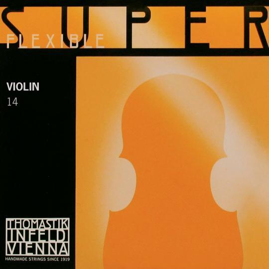 THOMASTIK Superflexible Violín Cuerda-Sol Plata, medio
