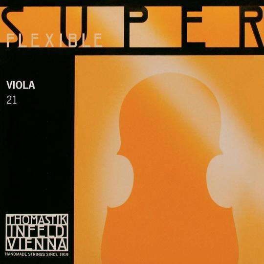THOMASTIK Superflexible Cuerda-Reo Plata Viola