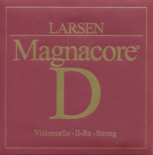 Larsen Chelo Magnacore Cuerda-Re, fuerte
