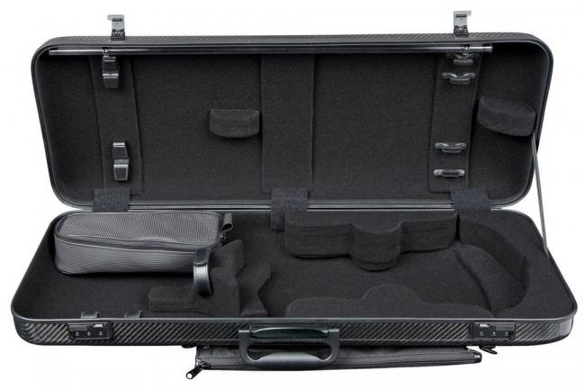 GEWA estuche Viola forma maleta Idea 2.6, negro/negro