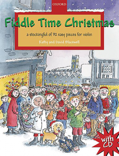 Fiddle Time Christmas, 1-2 violins mit CD
