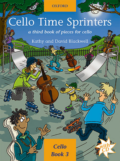 Cello Time Sprinters mit CD, Band 3