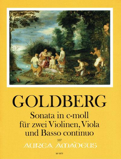 Goldberg, Sonata in c-moll