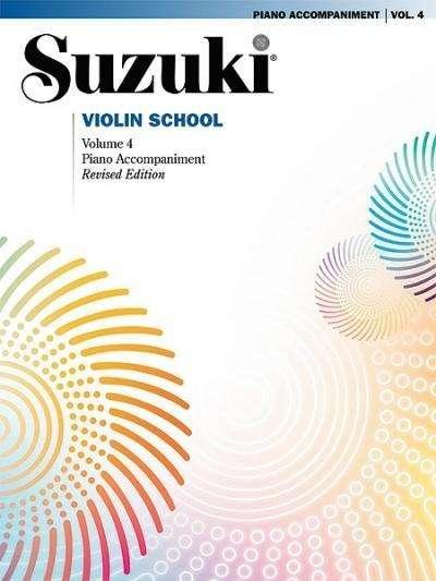 Suzuki Violin Schule Klavierbegleitung Band 4