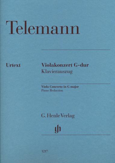 Telemann, Violakonzert G-dur