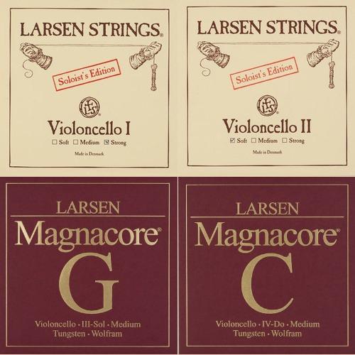 Larsen Soloist / Magnacore juego Chelocuerdas, medio
