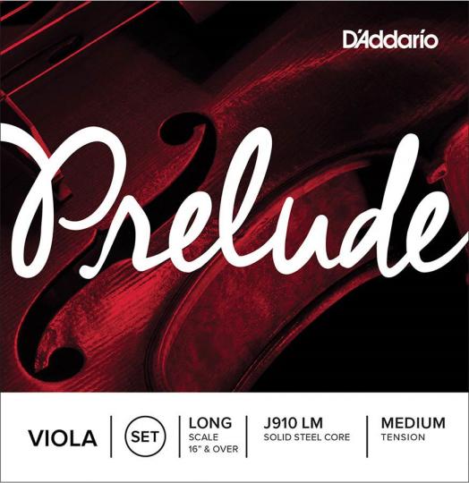 D´ADDARIO Prelude Viola, Juego medio