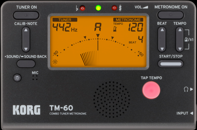 KORG TM-60 Metrónomo/Afinador