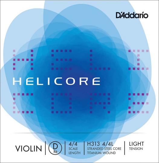 D´ADDARIO Helicore Cuerda-Re Violín suave
