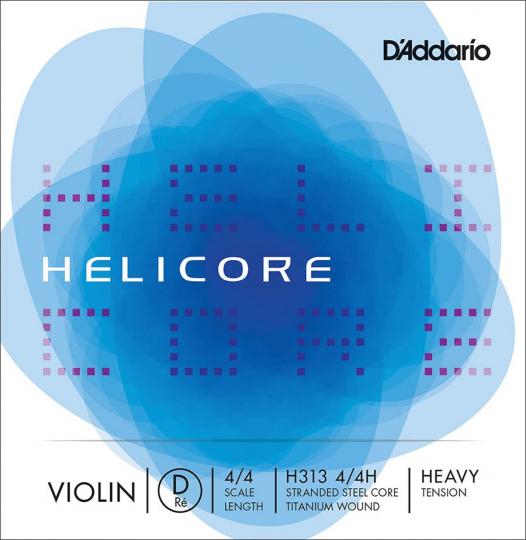 D´ADDARIO Helicore Cuerda-Re Violín, fuerte