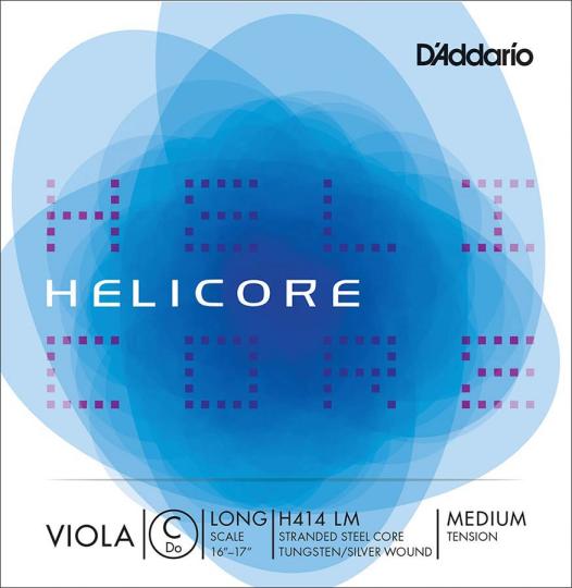D´ADDARIO Helicore Cuerda-Reo Viola, medio