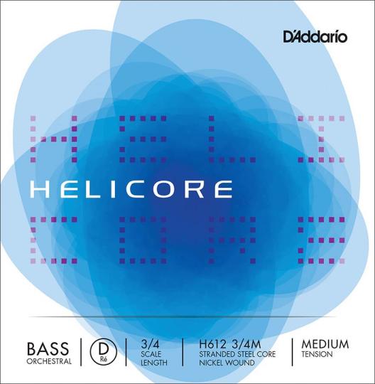 D´ADDARIO Helicore Contrabajo H612 Cuerda-Re