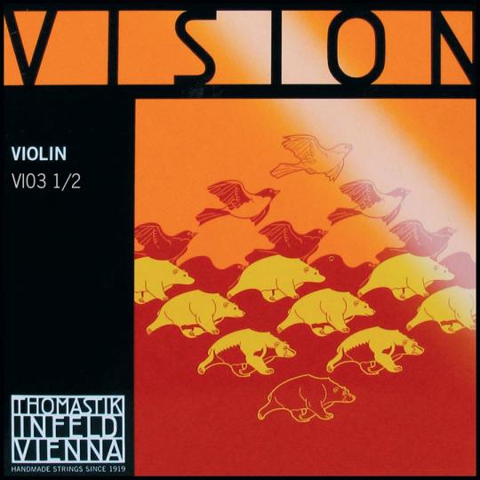 THOMASTIK Vision Cuerda-Re Violín, medio