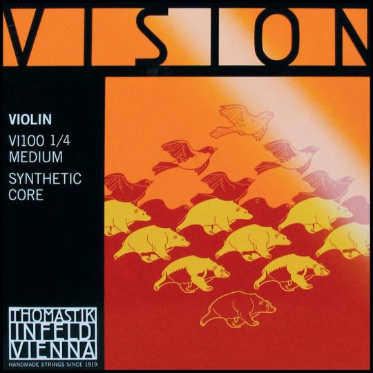 THOMASTIK Vision Juego 1/4 Violín, medio