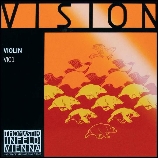 THOMASTIK Vision Cuerda-Mi Violín, medio