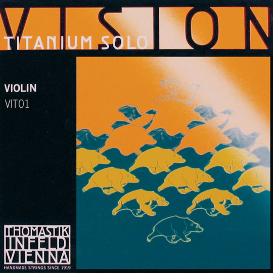 INFELD VISION Titanium Cuerda-Mi Violín, medio