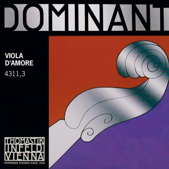 THOMASTIK Dominant Viola D´Amore Cuerda-Fis'