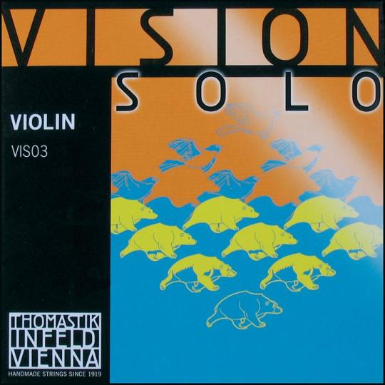 THOMASTIK Vision SOLO Cuerda D Violín, medium