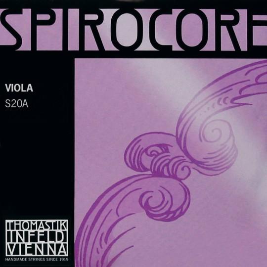 THOMASTIK Spirocore Cuerda-Sol Plata Viola, medio
