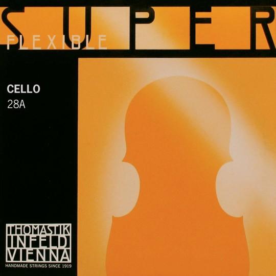 Thomastik-Superflexible Cuerda-Sol Plata Chelo