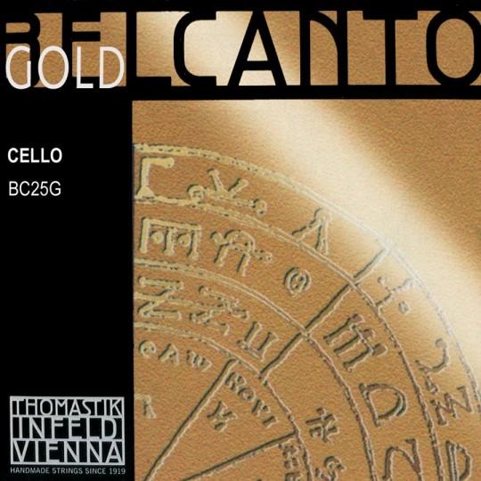 THOMASTIK Belcanto oro Cuerda-La Chelo