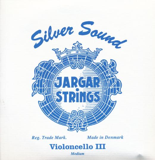 JARGAR Juego Chelo Silver Sound