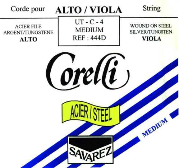 CORELLI Acero Viola Cuerda-Reo Plata/Wolframio, medio