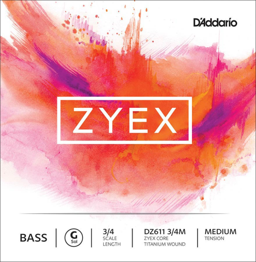 Zyex Cuerda  Contrabajo G, medium