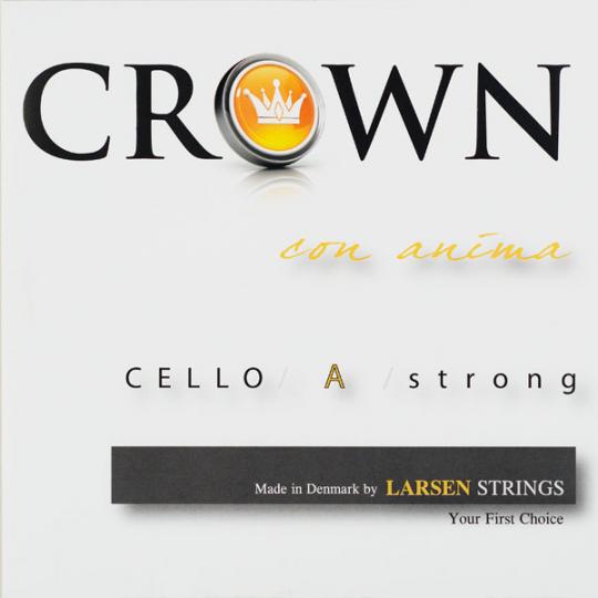 Crown Strings Chelo Cuerda-La Alu