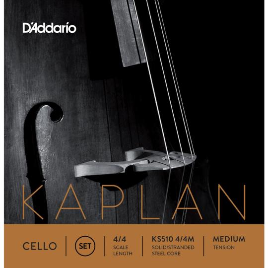 D' Addario Kaplan para Violonchelo cuerda D medium