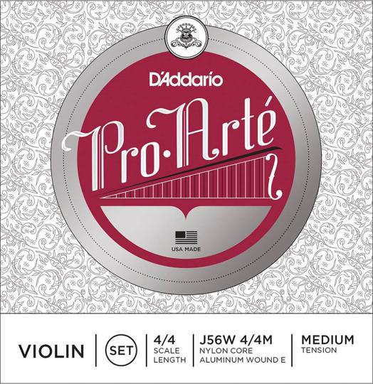 D´ADDARIO ProArté Juego Violín, medio
