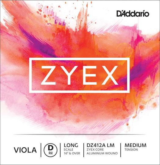 D´ADDARIO Zyex Viola Cuerda-Re medio