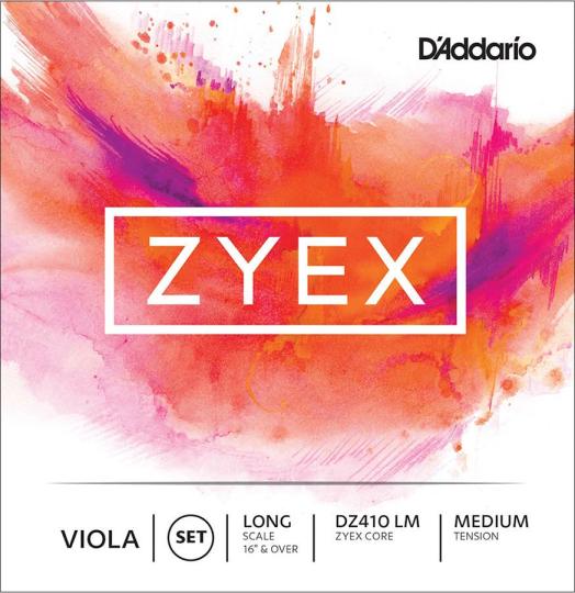 D´ADDARIO Zyex Juego Viola, medio