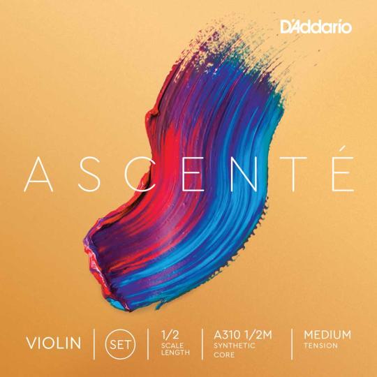 D'Addario Ascenté Juego Violín 3/4 Violín