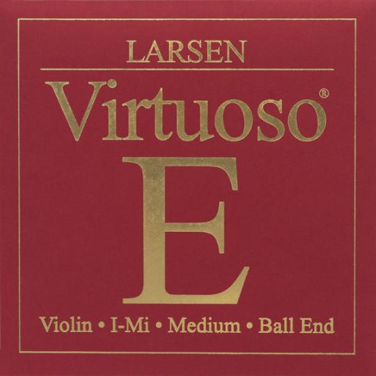 Larsen Virtuoso Violín Cuerda-Mi Stahl Lazo
