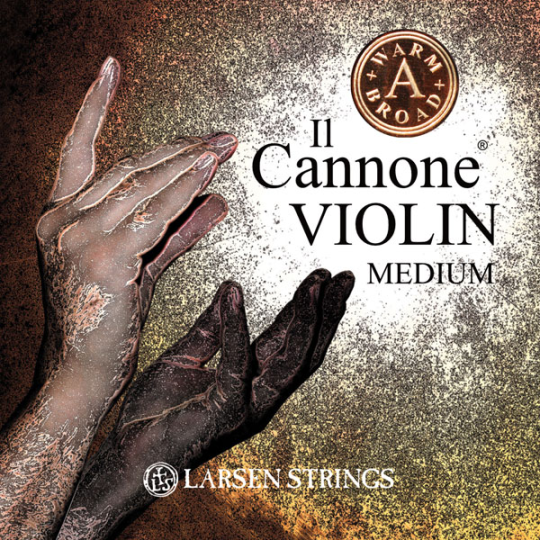 LARSEN Il Cannone Violinsaite A, Wide and Broad, medium