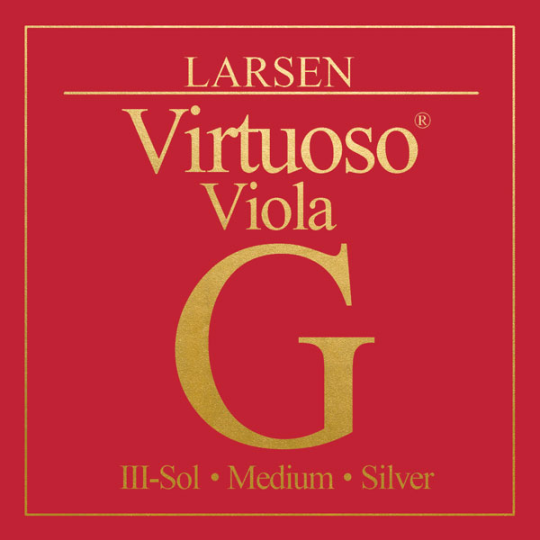 LARSEN Virtuoso Cuerdas para Viola, cuerda Sol, medio