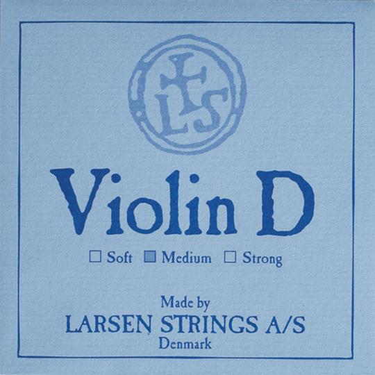 LARSEN Violín Cuerda-Re Plata