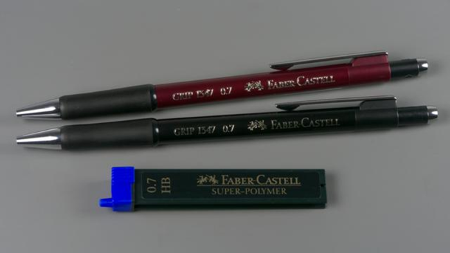 Faber-Castell, Portaminas, rojo
