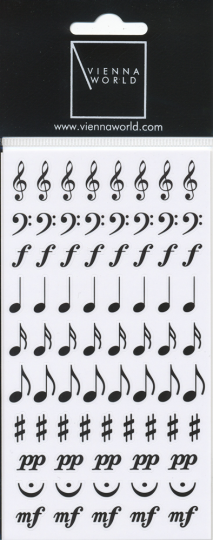 Sticker Notenzeichen