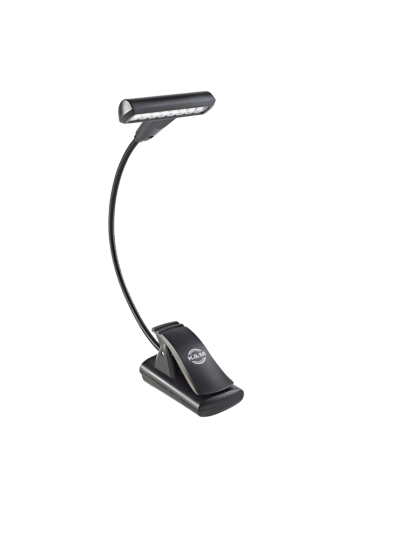 K & M Lámpara para el atril »T-Model LED FlexLight« - negro