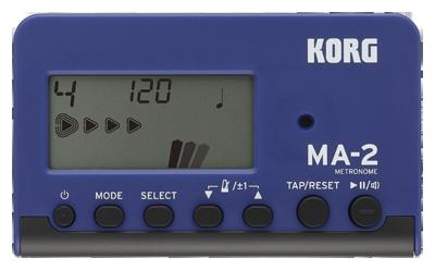 Korg MM-2 Metrónomo, fijar en la oreja