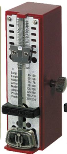 Wittner, Taktell Super-Mini, Metrónomo rojo