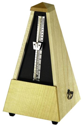 Wittner Metrónomo Pirámide Arce natural